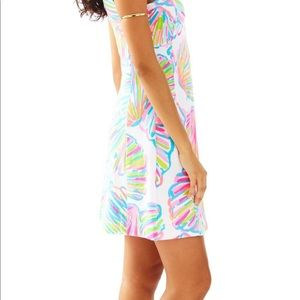 $258 Lilly Pulitzer Fit Flare Felicity Shellabrate
